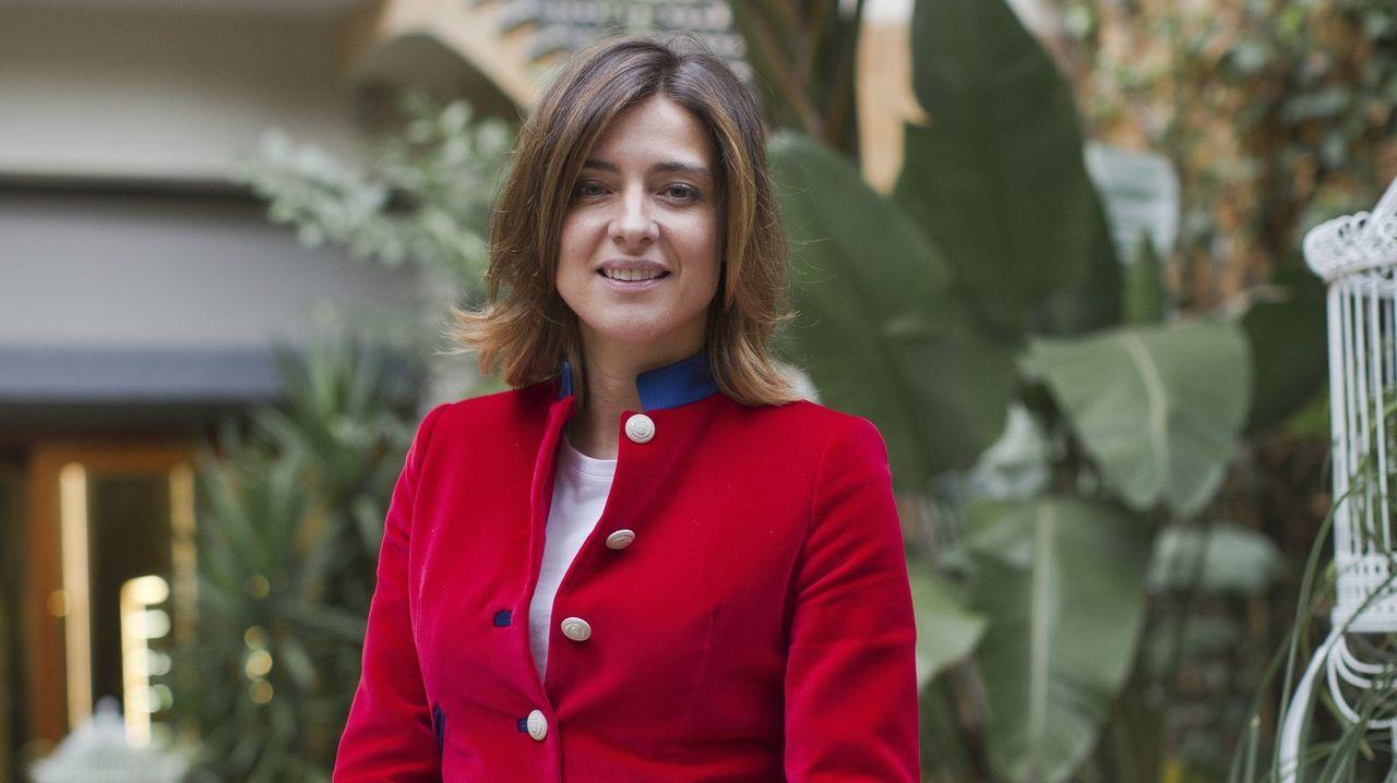 La presentadora y escritora Sandra Barneda