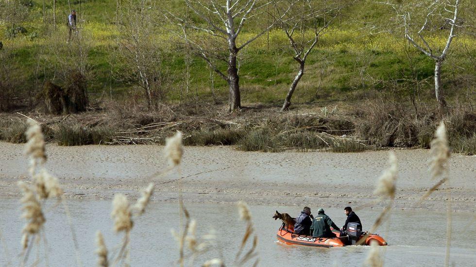 La Policía buscará a Marta del Castillo en el antiguo cauce del río Guadalquivir.El padre de Marta del Castillo, Antonio del Castillo, sigue las labores del búsqueda desde la dársena del Guadalquivir.