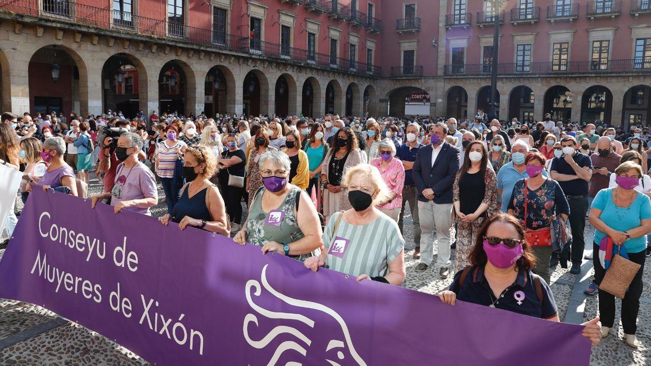 Concentración convocada en Gijón en repulsa por las agresiones sexuales