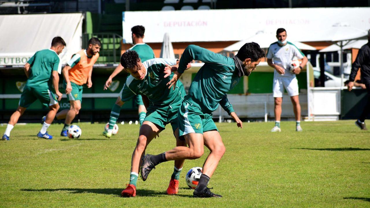 La presencia de aficionados en Pasarón en esta temporada ha sido prácticamete testimonial