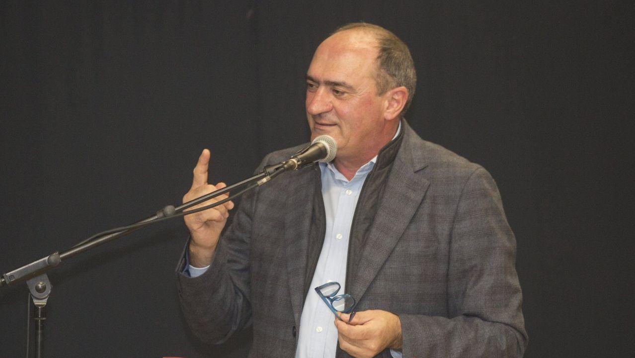 lugris.O escritor Xosé Luís Méndez Ferrín