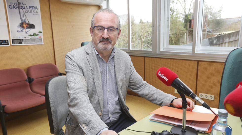 Pérez Añón, alcalde de Laxe, en una imagen de archivo