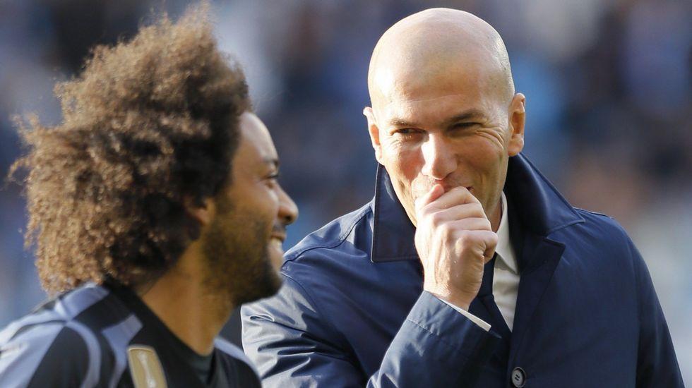 Las mejores imágenes del Celta - Real Madrid