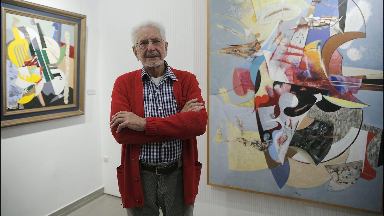 Rafael Úbeda inaugura esta tarde una exposición en el Museo Provincial de Lugo