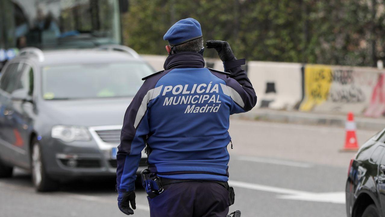Fotografía de acrhivo de un agente de la Policía Nacional