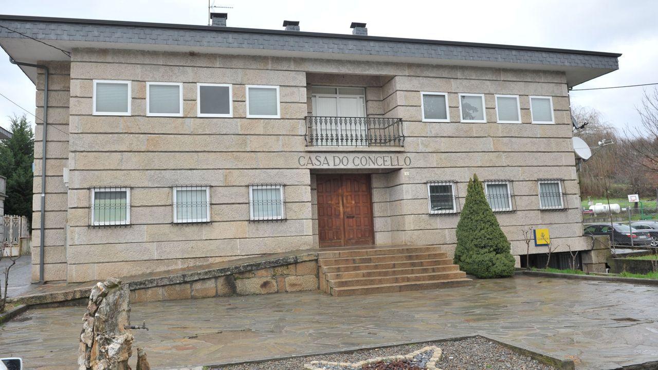 Imagen de archivo de la Casa do Concello de Laza