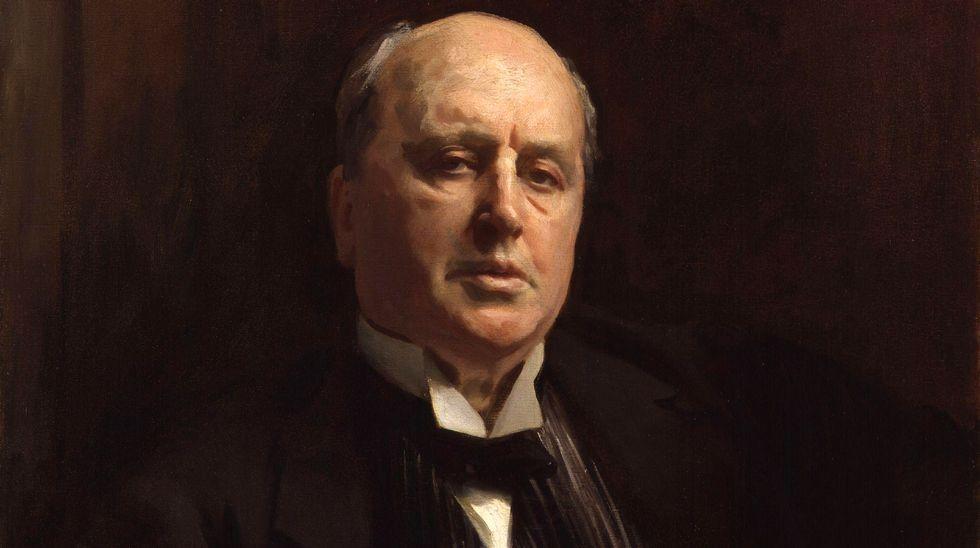 Detalle del retrato de Henry James pintado por John Silver Sargent en 1913. National Portrait Gallerý, Londres