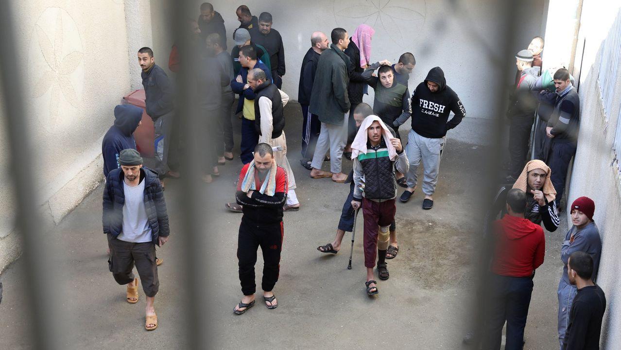 Presos del Estado Islámico, en la carcel gestionada por los kurdosirios en Al Hasaka