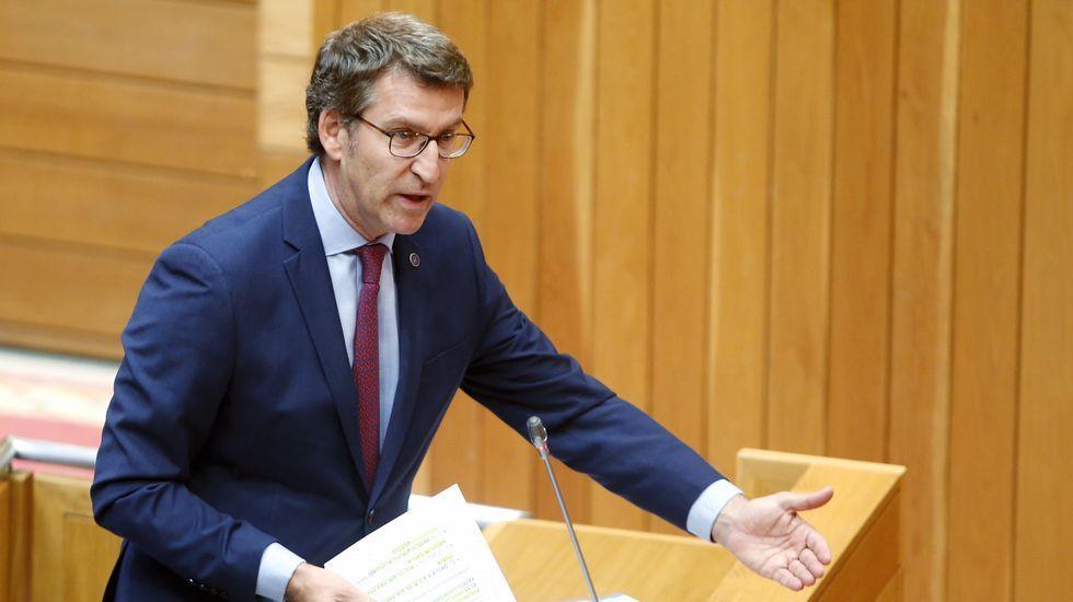 Feijoo: «O pataleo do PSOE non debería estar por riba do dereito dos cidadáns a ter un Goberno»