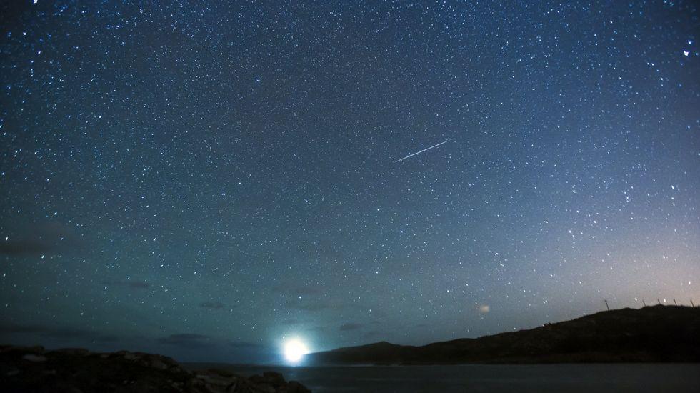 ¿Cómo ver las Perseidas?.Lluvia de estrellas Germínidas en Ponteceso