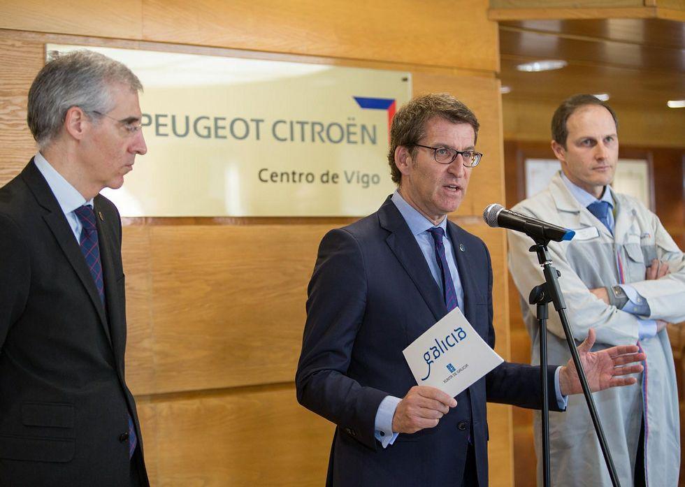Todas las novedades del Salón Internacional del Automóvil de Ginebra.Conde y Feijoo se reunieron ayer en Vigo con Martin para buscar soluciones a la ampliación.