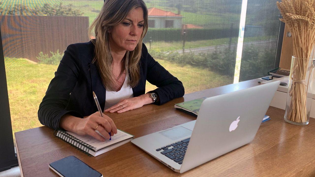 La viceconsejera de Turismo, Graciela Blanco