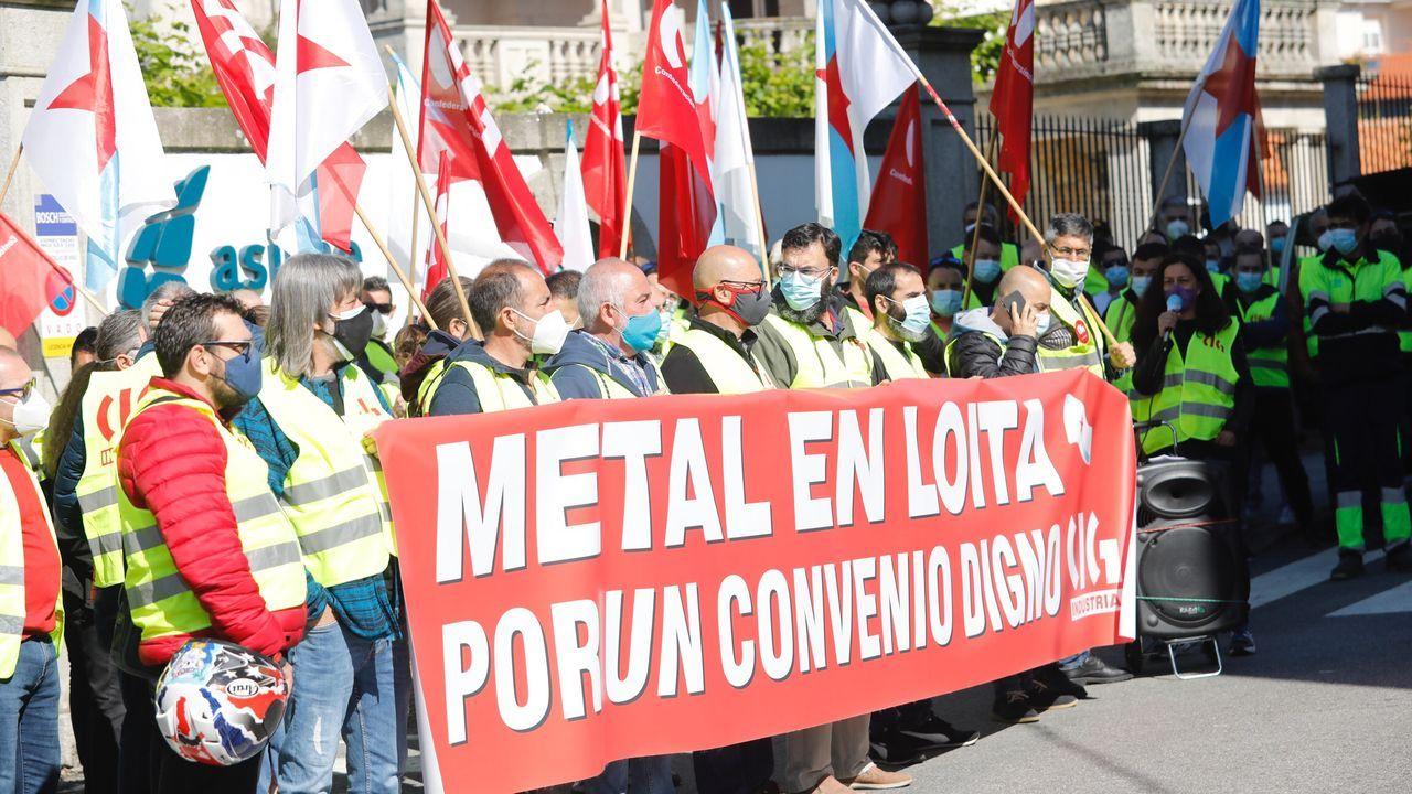 En Vigo se produjeron dos movilizaciones ante Freire y ante Asime