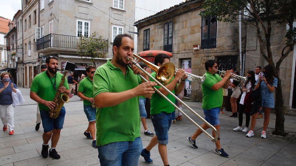 Pontevedra se despide de las fiestas del verano de la pandemia.Miguel Angel Munoz