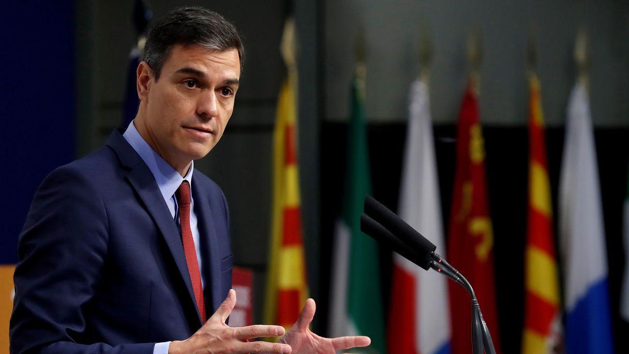 Momentos en la vida del candidato de José Carlos Fernández Sarasola.Pedro Sánchez