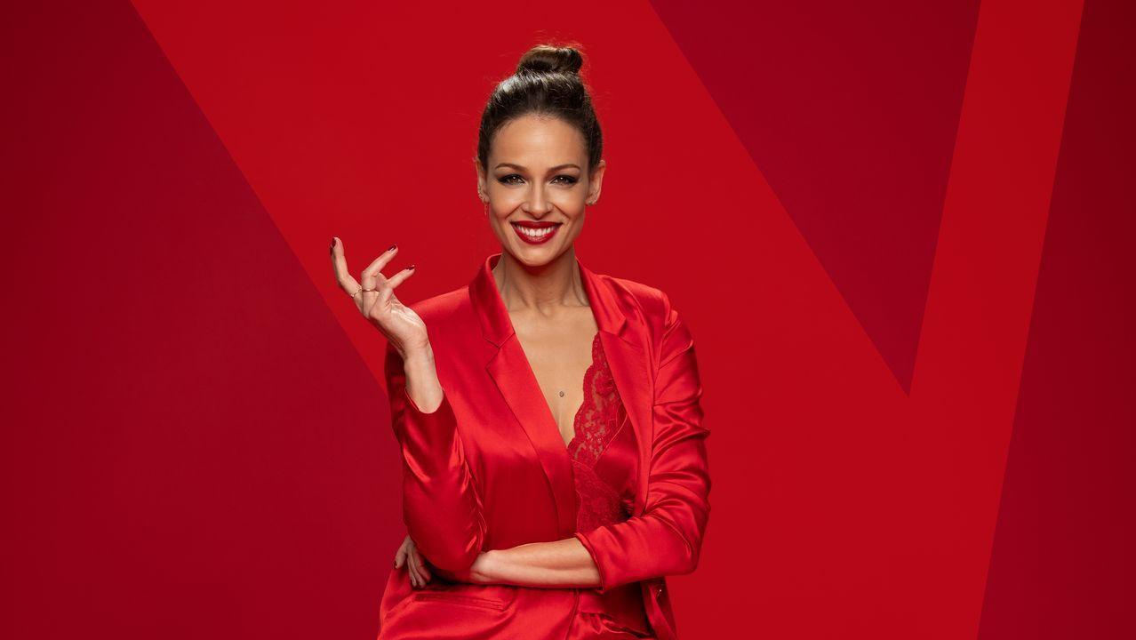Malaka.Eva González, presentadora de «La voz», en Antena 3