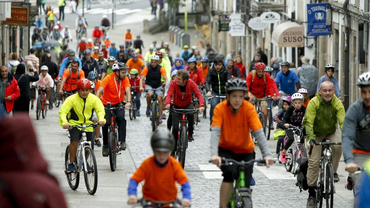 Semana da movilidade día de la bici y pedalada