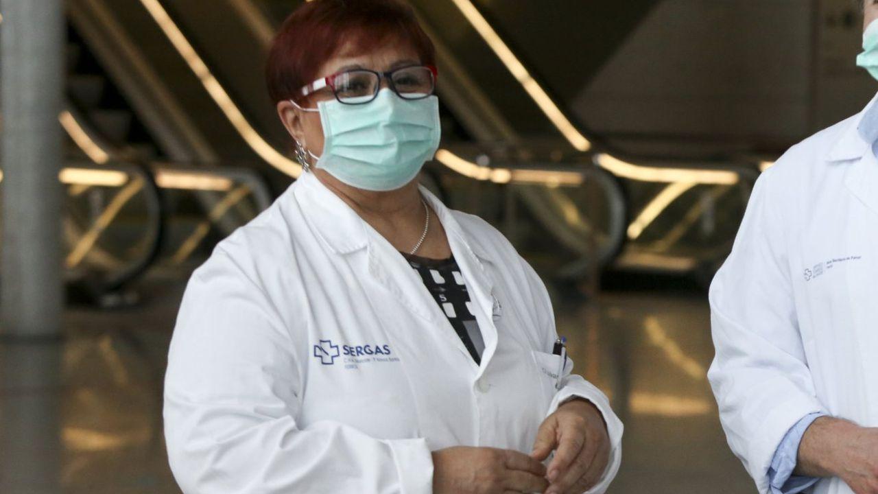 Medio centenar de personas han tenido que ingresar en la uci por el coronavirus