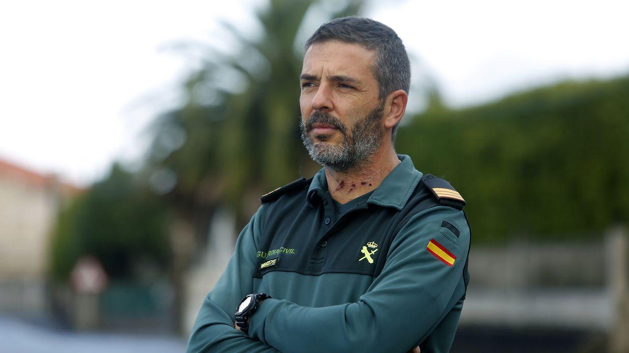 En la residencia de los primeros inmunizados gallegos: «Os que non a queren poñer son uns parvos»