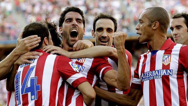 Barcelona-Atlético: La vuelta de la Supercopa, en imágenes.Rosana, coas cores atléticas.