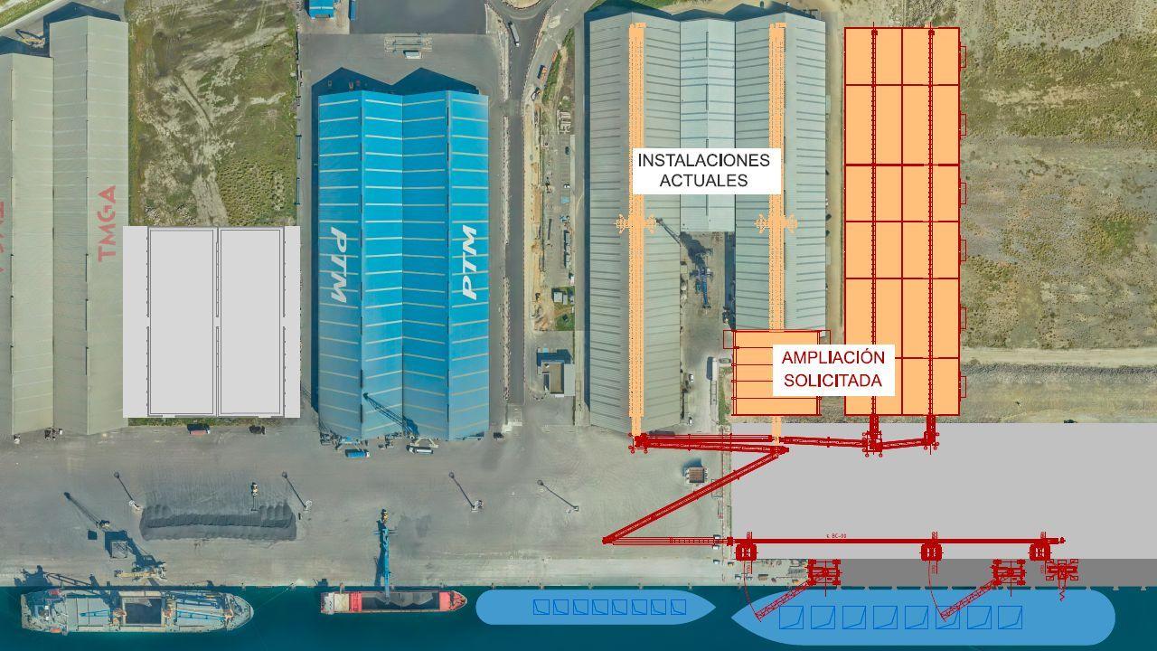 San Xoán 2020: la celebración más atípica en imágenes.Instalaciones del puerto exterior de A Coruña en punta Langosteira
