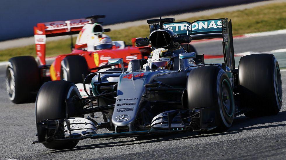 Mercedes marca el ritmo en una nueva jornada en Montmeló.La feria reunirá la mayor parte de las marcas comerciales
