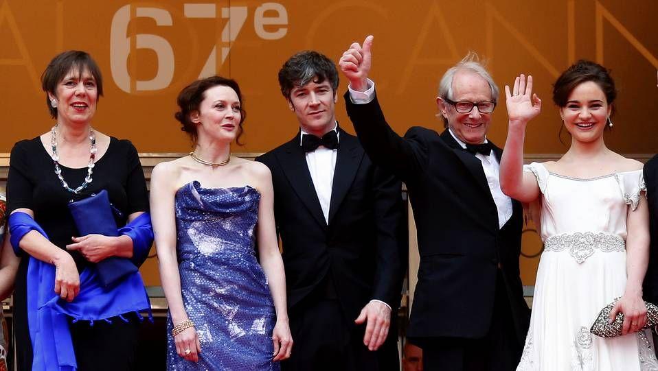 Novena jornada del Festival de Cannes.Pablo Iglesias celebra el triunfo de Podemos, que consigue 5 escaños.