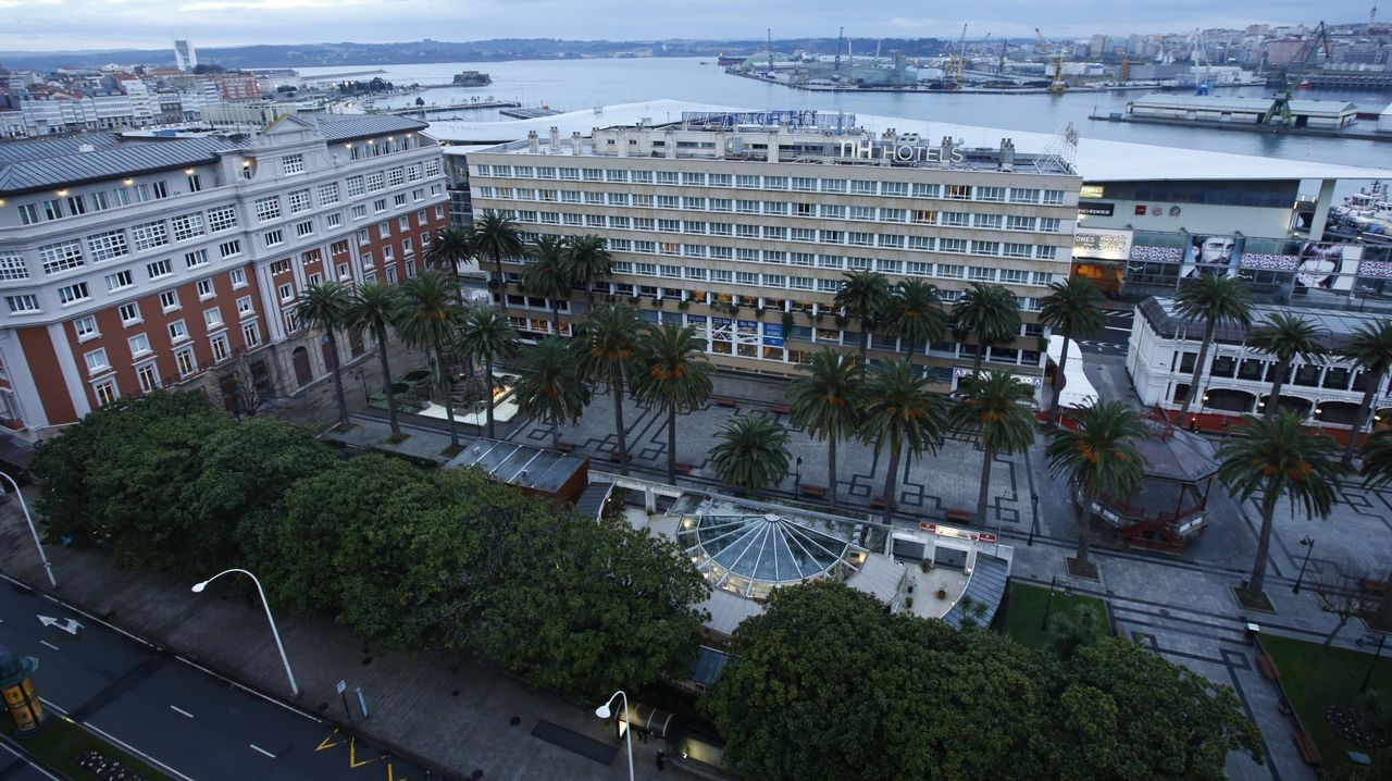 Así está la cárcel de la Torre, la antigua prisión provincial de A Coruña.Oficina de empleo en Ferrol