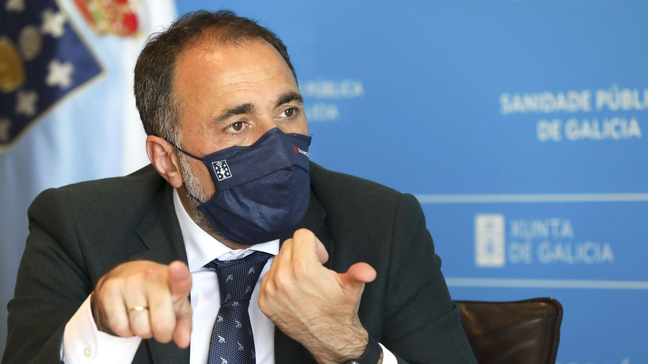 Comesaña: «Espero que todo el mundo haga caso a los gallegos y lleve la mascarilla cuando va corriendo»