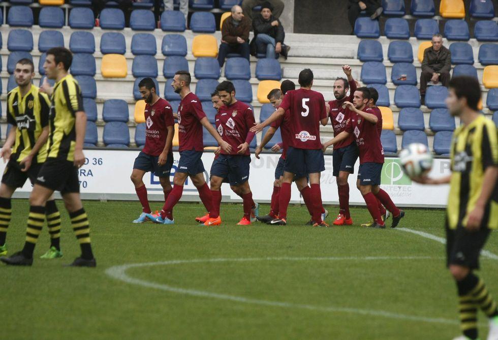 El Pontevedra goleó por 3-0 al Bertamiráns en Pasarón el pasado 9 de noviembre.