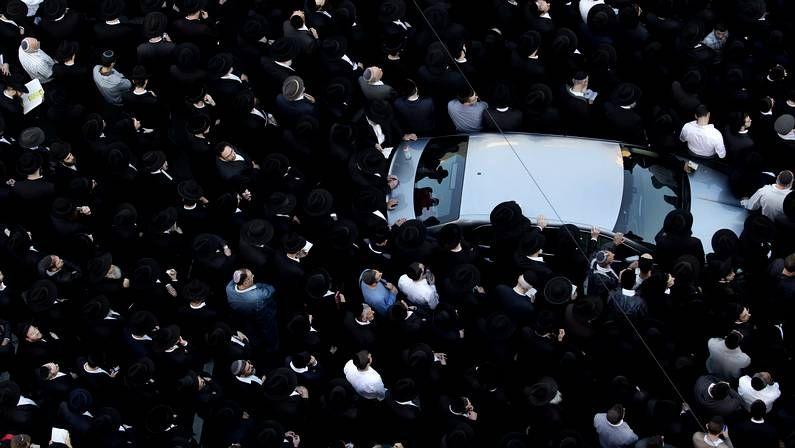 «Los asesinaron sólo porque eran judíos».Rezo por las muertes de los cuatro rabinos