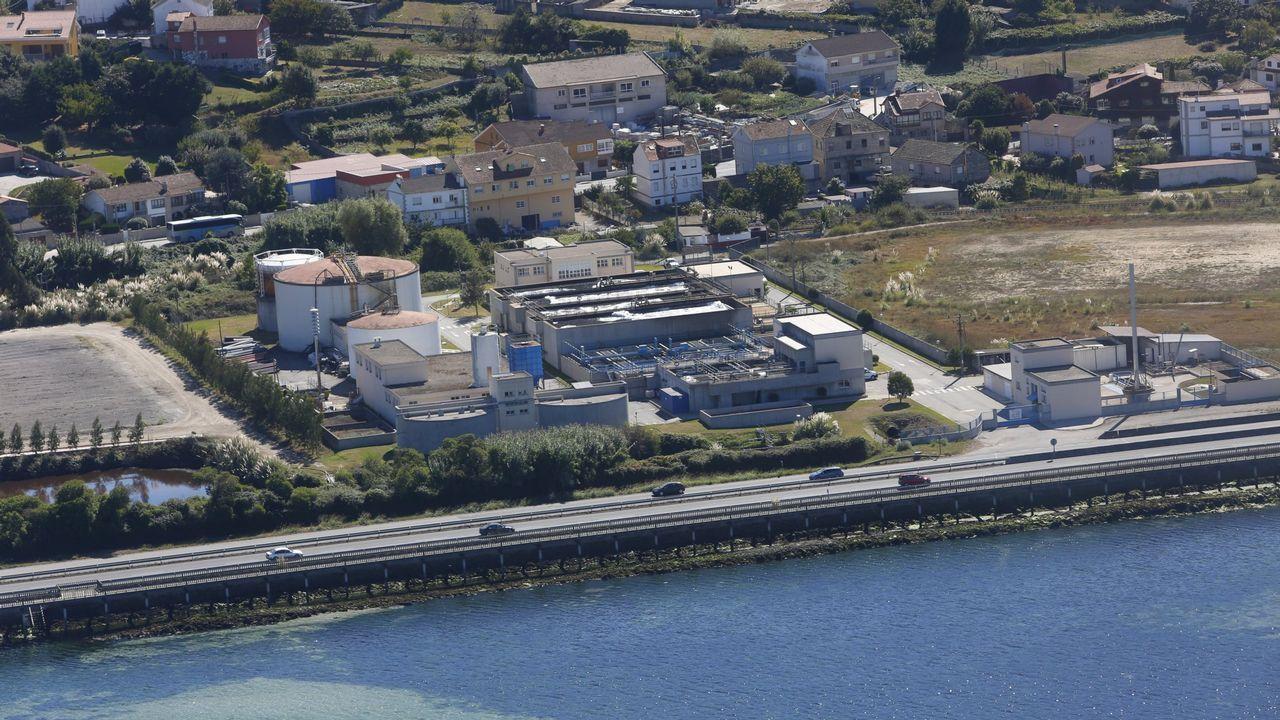 Instalaciones de ENCE en Pontevedra