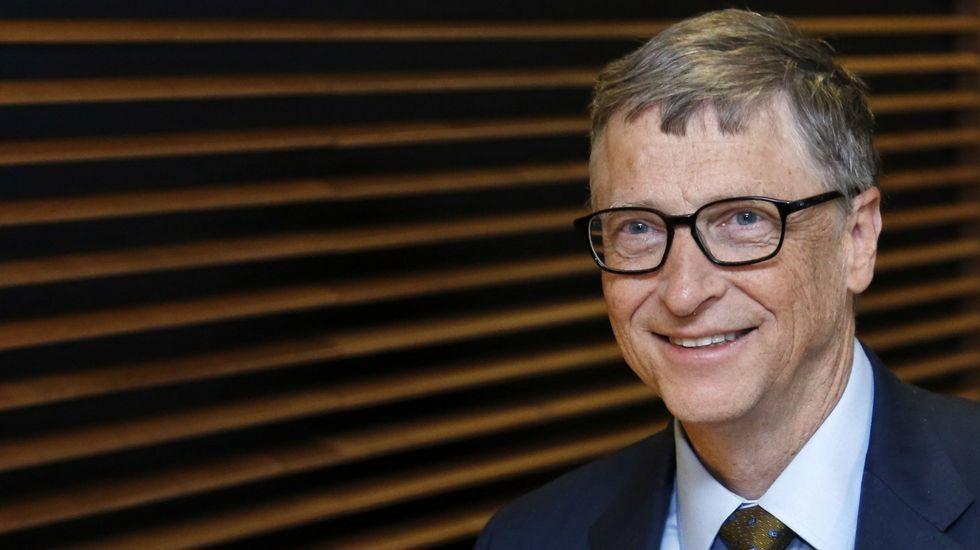 Las diez personas más ricas del mundo.El directivo junto a la presidenta de FCC, Esther Koplowitz