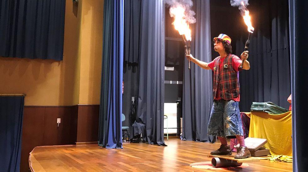 Duende Circo presenta «Pallaso Total» en Meira
