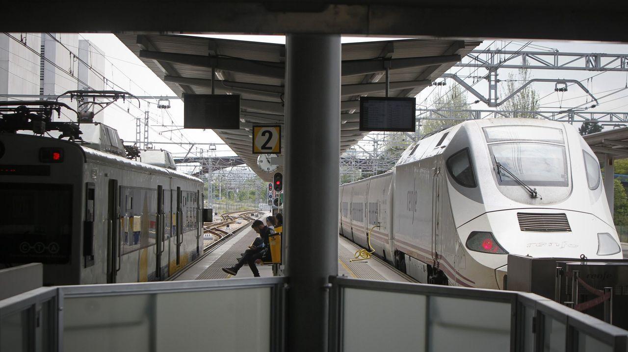 Estación de tren de Gijón