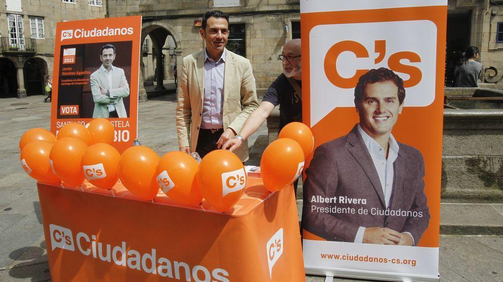 Ciudadanos sigue usando el reclamo de su líder estatal, Albert Rivera, para intentar captar votantes