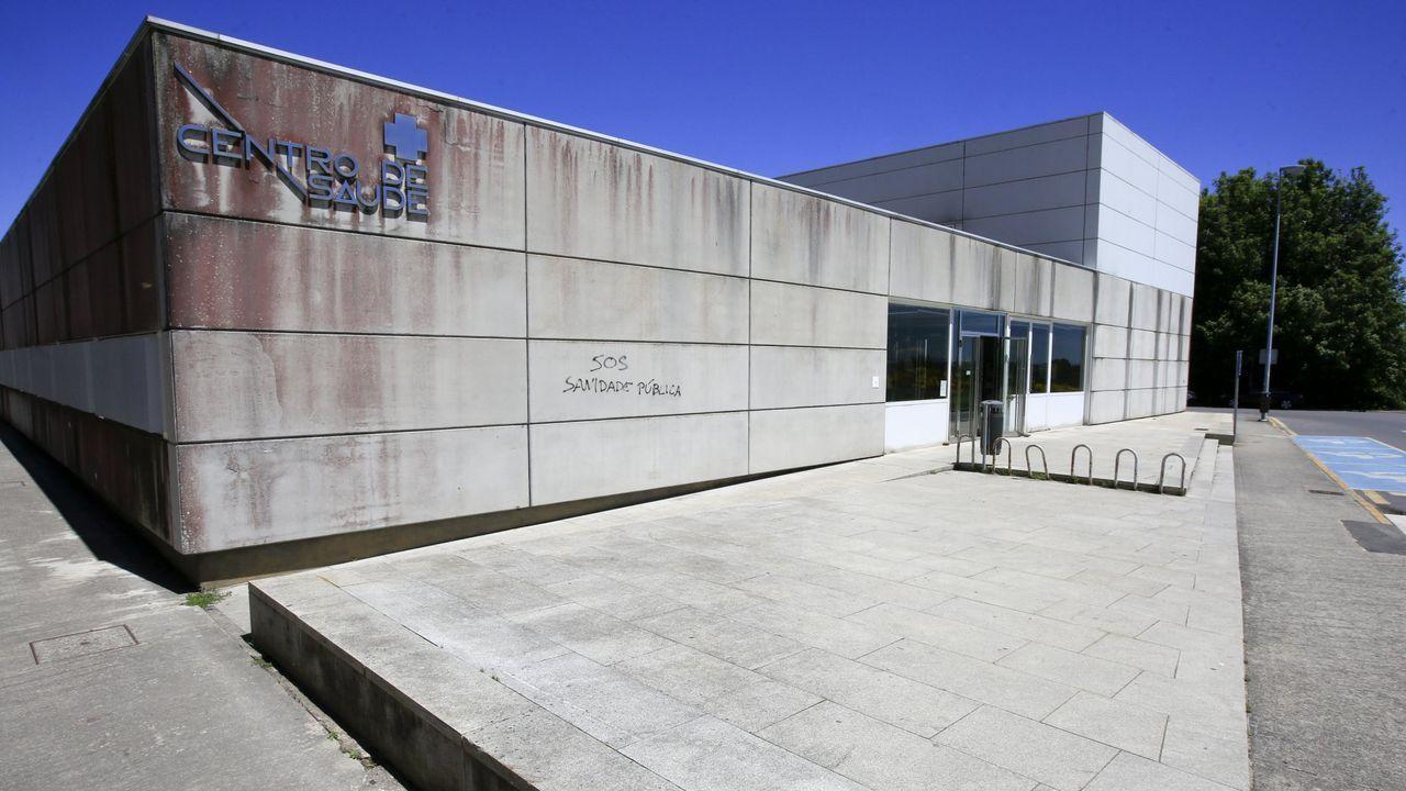 Exterior del centro de salud de Vilalba
