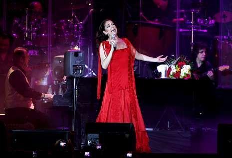 «Así es Kiko Rivera».Isabel Pantoja fue la protagonista del último concierto en el Ifevi el 12 de mayo del 2012.