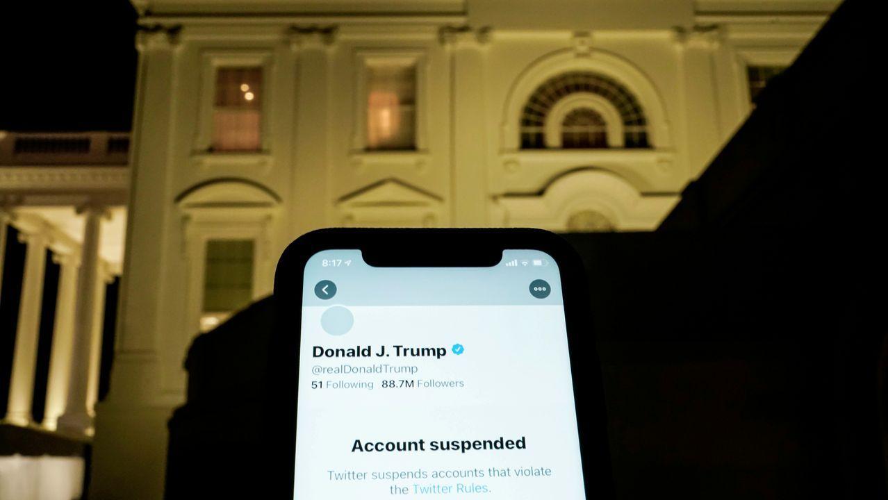Trump abrió su cuenta de Twitter en el 2009 y llegó a tener 89 millones de seguidores antes de ser censurado.