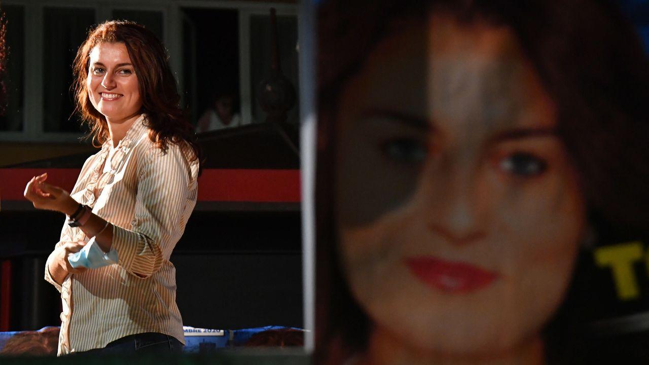 Susanna Ceccardi, candidata en Toscana del partido de Salvini