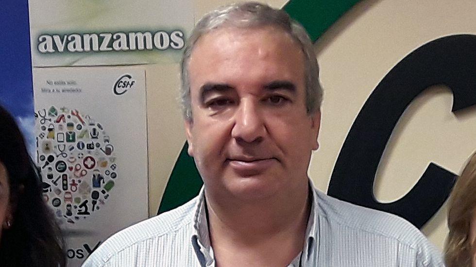 El responsable autonómico de la Central Sindical Independiente y de Funcionarios (CSIF), Sergio Fernández-Peña.El responsable autonómico de la Central Sindical Independiente y de Funcionarios (CSIF), Sergio Fernández-Peña