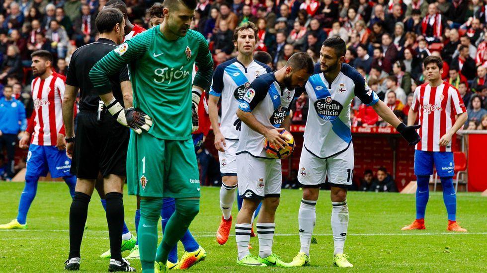 Las mejores fotos del Sporting-Deportivo