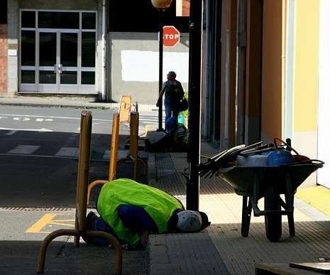Las obras de sustitución de luminarias llegan a siete calles.