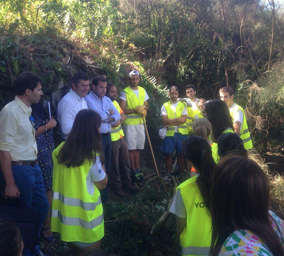 Voluntarios de diversos países participaron el año pasado en los campamentos de trabajo.