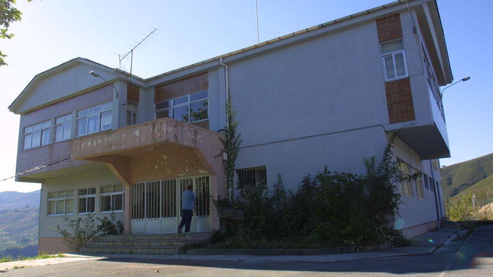 La residencia de mayores de Folgoso ocupará el lugar en el que ahora está el antiguo colegio
