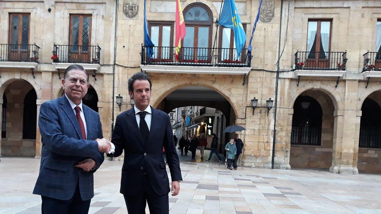 Canteli y Cuesta sellan su pacto de gobierno