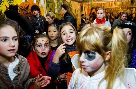 El Samaín es una de las fiestas anuales de referencia en la localidad de Cedeira.