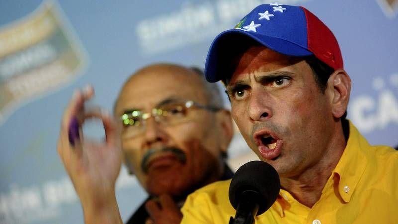 Capriles no reconoce su derrota