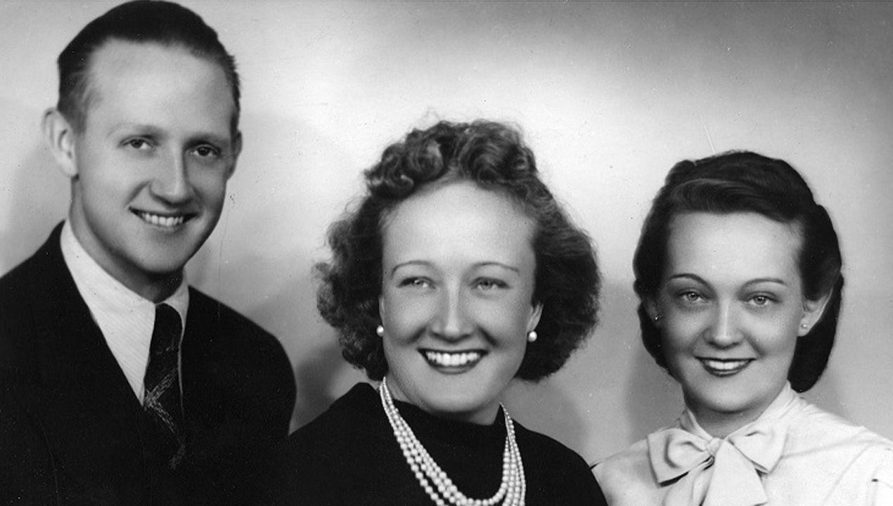 Clara Stauffer (en el centro) junto a sus hermanos en fecha indeterminada. Eran hijos de Konrad Stauffer, un maestro cervecero que ayudó a levantar la empresa Mahou, y Julia Loewe, de la familia de la famosa marca de moda