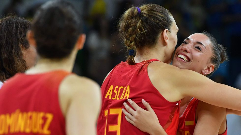 La final femenina Estados Unidos-España, en fotos